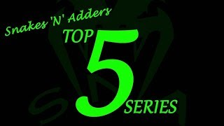 Reptile TOP 5 : Episode - 3 (Top 5 Rear Fanged Snakes)