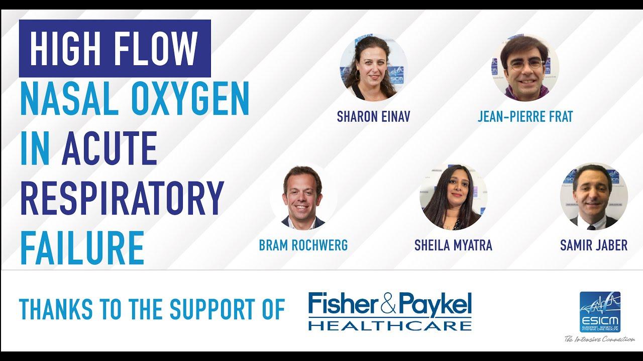 High Flow Nasal Oxygen in acute respiratory failure