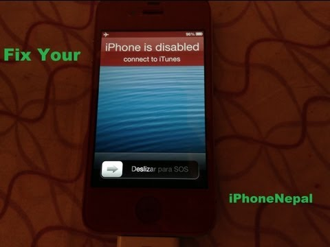 How To Fix Forgot Password On iPhone,iPad, iPod Touch, iPad Mini - Work With Any iOS