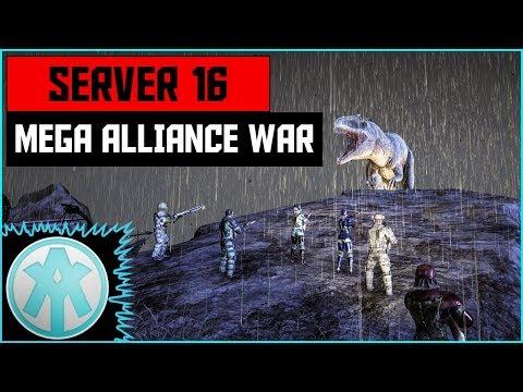 Ark Mega Alliance Server War on Xbox Server 16