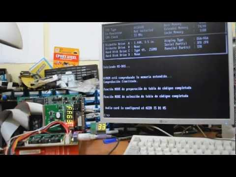 Writing to PC Diagnostic (POST) card using MS-DOS DEBUG