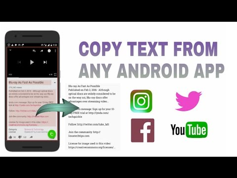 How to copy Twitter and Instagram YouTube written in Hindi