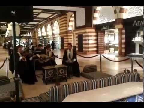 instrumental music in Dubai Mall
