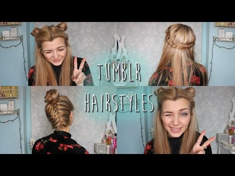 ☯ Tumblr Inspired Hairstyles ☯