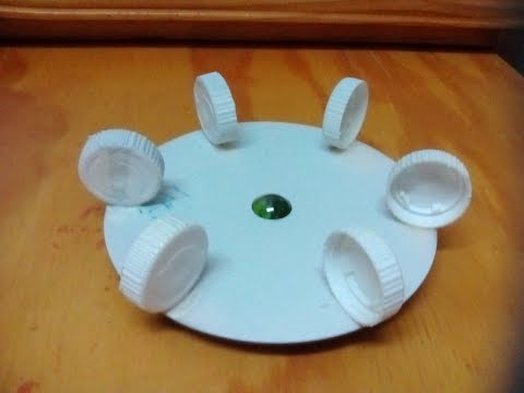 How to Make an Anemometer - With a CD, Marble and Bottle Caps - Simple & Easy - Tutorial