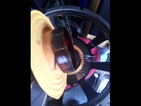 how to spot a burnt out voice coil... :(