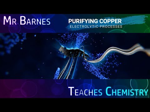 GCSE Chemistry 1-9: Purifying Copper using Electrolysis