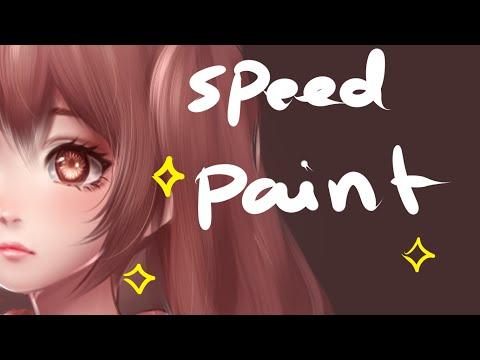 semi realism style testing - speedpaint (paint tool sai)