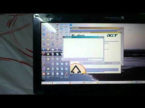 flickering Acer screens