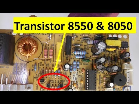How To Check Transistor 8050 and 8550 Very EASILY