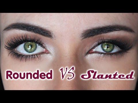 How To: Rounded Eyes VS Slanted Eyes   MakeupAndArtFreak