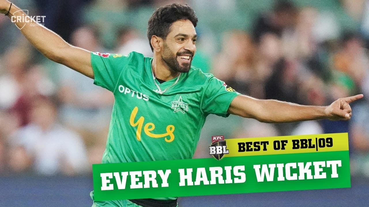 Every one of Haris Rauf's blistering wickets from maiden BBL | KFC BBL|09