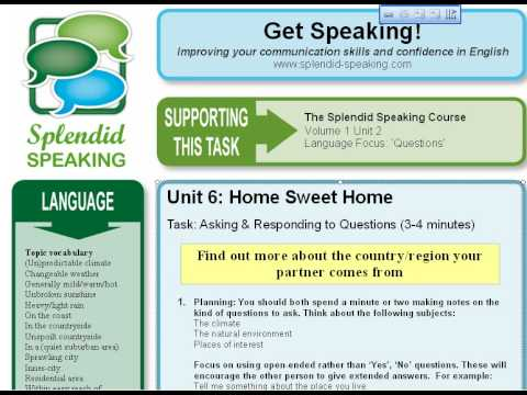 Speaking Activities for Advanced English Students