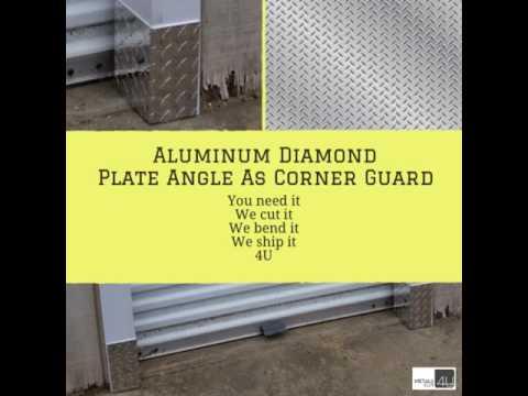 Corner Guard. Aluminum Diamond Plate
