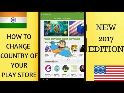 How to change your country settings of Google account 2017