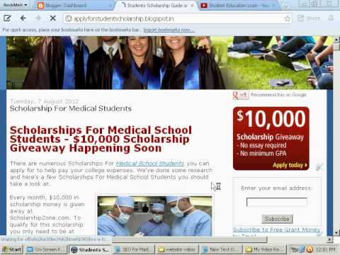 Scholarship For Medical Students