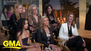 Download Exclusive interview with the cast of 'Big Little Lies' season 2 Video