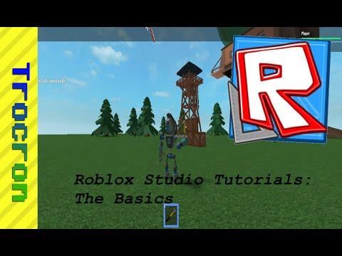 Roblox Studio Tutorial: The Basics (February 2016)