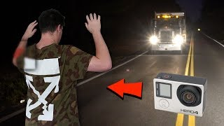 (clinton road) we put a GoPro on DK and we see INSIDE the phantom truck... (real footage)