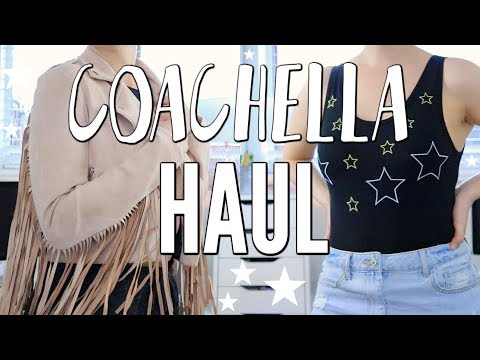 COACHELLA TRY ON HAUL!!