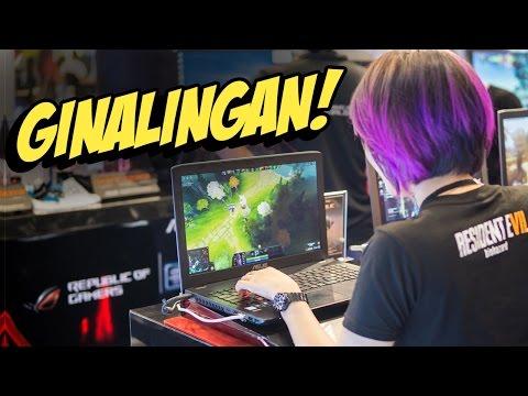 GINALINGAN SA DOTA!! Last Hit Challenge / Games & Gaming Fair Vlog