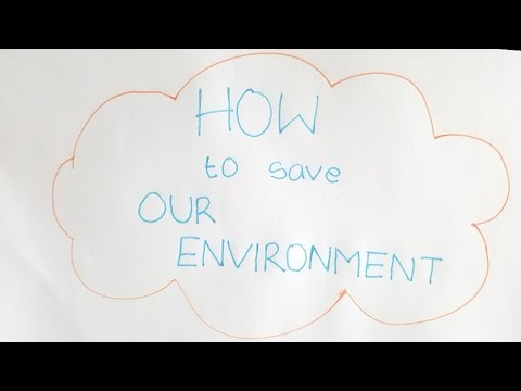 TIPS - How To Save Our Environment (Stop Motion)