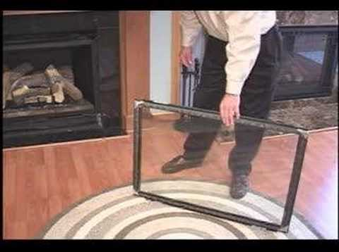 Clean Glass on your Fireplace or Stove