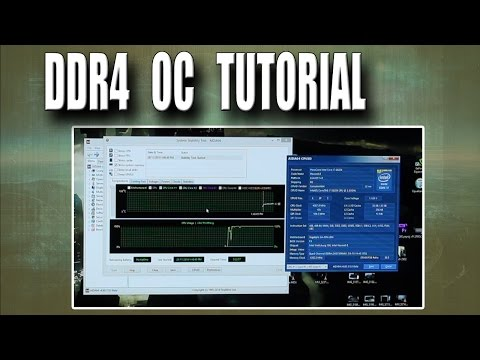 DDR4 Overclocking Tutorial / Guide / How To, With Crucial DDR4 2133 Memory.