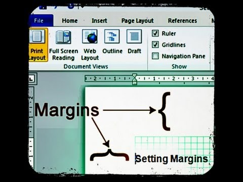How to Change Margins in Microsoft Word 2010