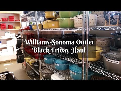 Williams-Sonoma Outlet Black Friday Haul & Unboxing ~ Shop with Me ~ Amy Learns to Cook