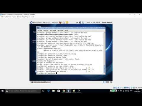 Service ssh sous linux Fedora 13
