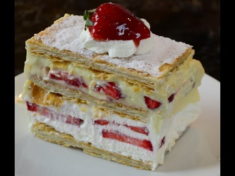 Strawberry Napoleon (Mille-feuille)