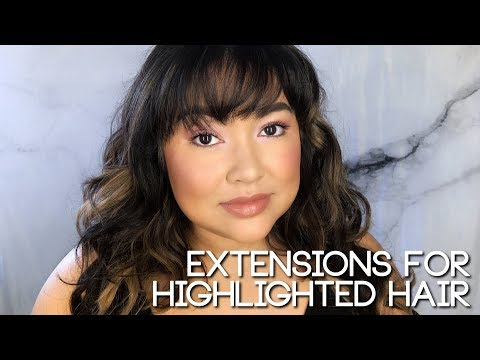 Extensions for Highlighted Hair    The Savvy Beauty