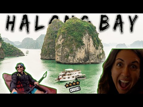 HALONG BAY LUXURY CRUISE! *UNBELIEVABLE*   TRAVEL VIETNAM