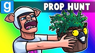 Gmod Prop Hunt Funny Moments - You Thought He Was a Pott, But He