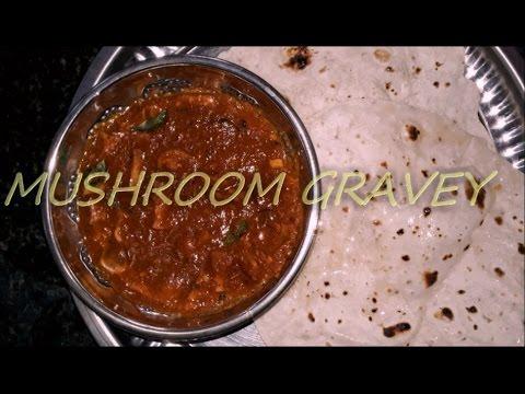 Restaurant Style Mushroom Gravy