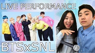 Download BTS SNL Live Performances Boy With Luv & Mic Drop - Couple Reaction Video