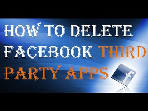How To Remove Facebook Apps | Delete Facebook Apps From Computer