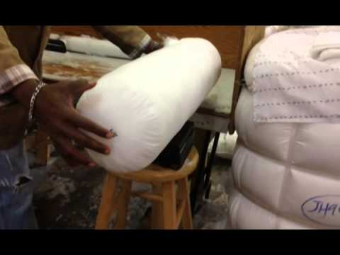 Yoga bolster  washable cover and insert made in Canada