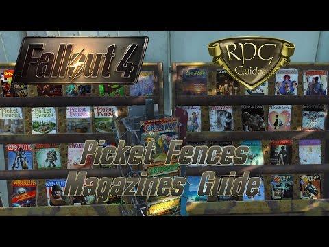 Fallout 4 Guide: Picket Fences Magazine (5 Ausgaben)