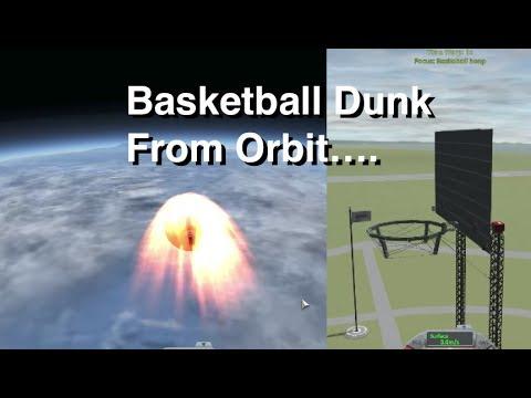Basketball Dunk From Orbit