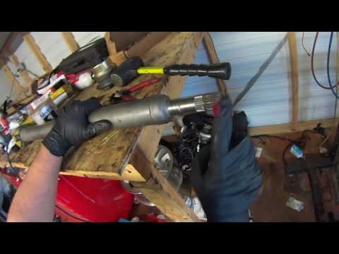 Front Driveshaft CV Joint Replacement on Hummer H3 Chevy Colorado GMC Canyon