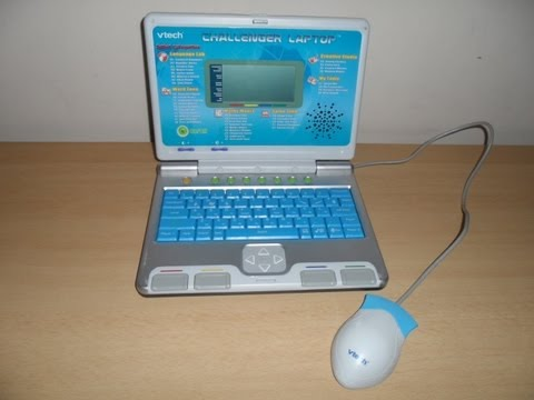 WORLDS BEST VTECH BLUE LEARNING LAPTOP PC LEARN ENGLISH EDUCATIONAL GAMES