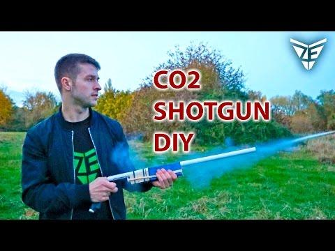 I Made a SHOTGUN that fires Co2 cartridges :D
