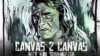 Shawn Michaels brings the attitude to the canvas - WWE Canvas 2 Canvas