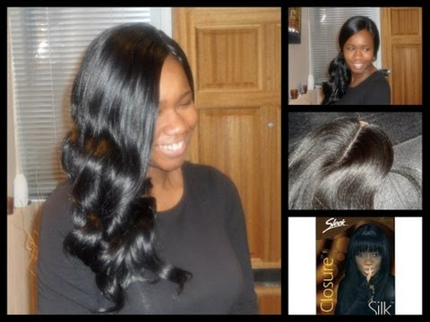 Full Sew In with Sleek Closure (No Leave Out)