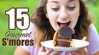 15 Gourmet Smores Recipes | Brooklyn and Bailey