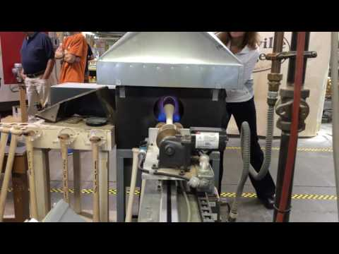 Louisville Slugger flame tempered process