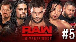 WWE 2K17 Universe Mode - RAW Episode 5: A Monstrous Challenger!