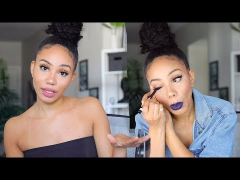 Affordable Day to Night Makeup using Drugstore Products | Alyssa Forever
